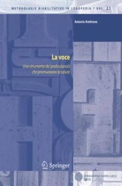 Amitrano, Antonio - La voce, ebook