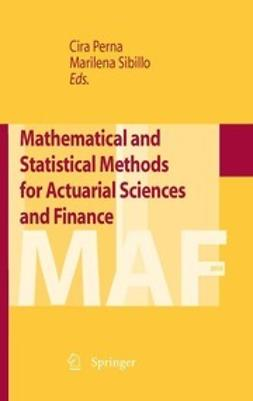 Perna, Cira - Mathematical and Statistical Methods for Actuarial Sciences and Finance, ebook