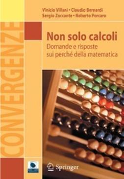 Villani, Vinicio - Non solo calcoli, ebook