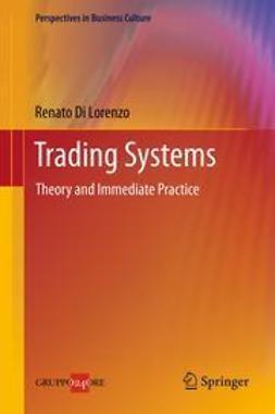 Lorenzo, Renato Di - Trading Systems, ebook
