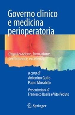 Gullo, Antonino - Governo clinico e medicina perioperatoria, ebook