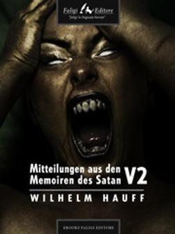 Hauff, Wilhelm - Mitteilungen aus den Memoiren des Satan V1, ebook