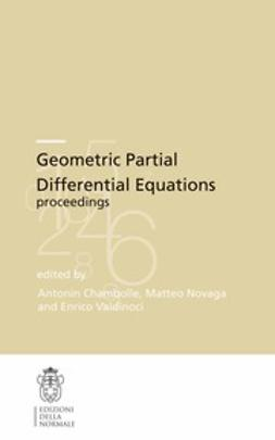 Chambolle, Antonin - Geometric Partial Differential Equations proceedings, ebook