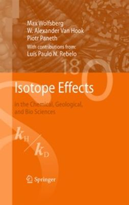 Wolfsberg, Max - Isotope Effects, ebook