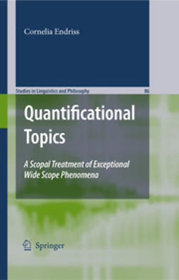 Endriss, Cornelia - Quantificational Topics, ebook