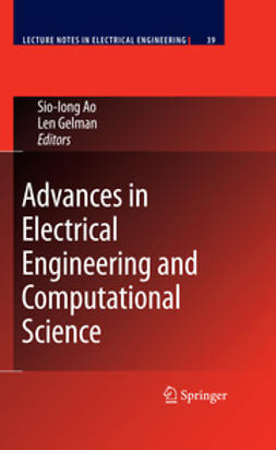 Ao, Sio-Iong - Advances in Electrical Engineering and Computational Science, ebook