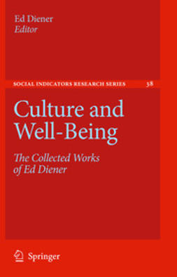 Diener, Ed - Culture and Well-Being, e-bok