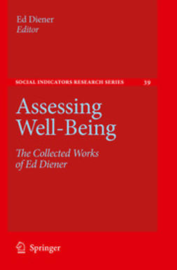 Diener, Ed - Assessing Well-Being, e-bok