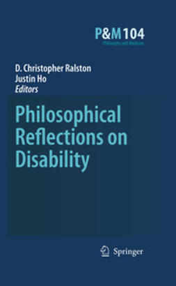 Ralston, D. Christopher - Philosophical Reflections on Disability, e-bok