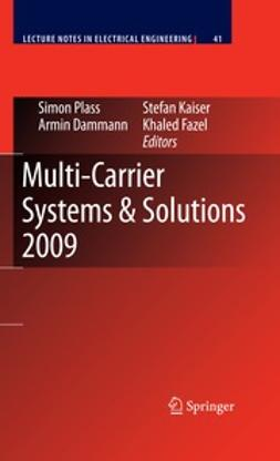 Plass, Simon - Multi-Carrier Systems & Solutions 2009, ebook