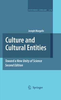 Margolis, Joseph - Culture and Cultural Entities, ebook