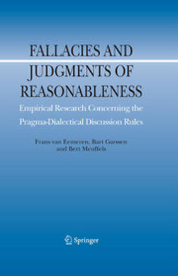 Eemeren, Frans - Fallacies and Judgments of Reasonableness, ebook