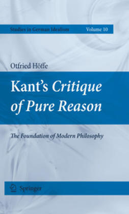Höffe, Otfried - Kant's Critique of Pure Reason, ebook