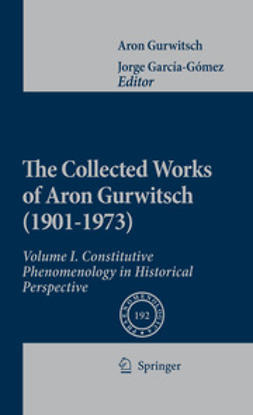 García-Gómez, Jorge - The Collected Works of Aron Gurwitsch (1901–1973), ebook
