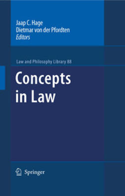 Hage, Jaap C. - Concepts in Law, e-bok