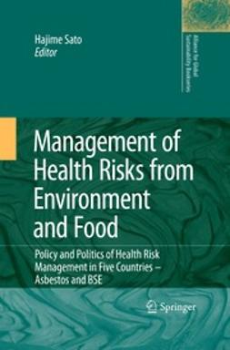 Sato, Hajime - Management of Health Risks from Environment and Food, ebook