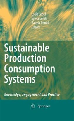 Lebel, Louis - Sustainable Production Consumption Systems, ebook