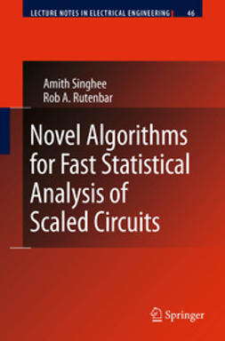 Singhee, Amith - Novel Algorithms for Fast Statistical Analysis of Scaled Circuits, ebook