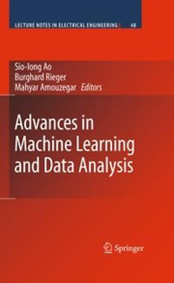 Ao, Sio-Iong - Advances in Machine Learning and Data Analysis, e-bok