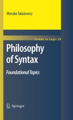 Talasiewicz, Mieszko - Philosophy of Syntax, ebook