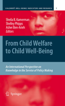 Kamerman, Sheila B. - From Child Welfare to Child Well-Being, ebook