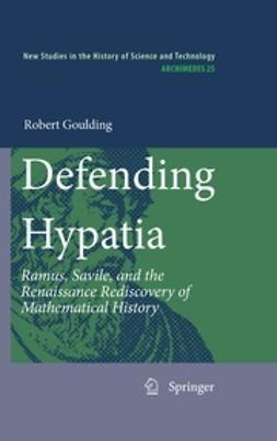 Goulding, Robert - Defending Hypatia, ebook