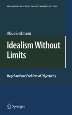 Brinkmann, Klaus - Idealism Without Limits, ebook