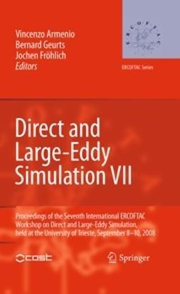 Armenio, Vincenzo - Direct and Large-Eddy Simulation VII, e-bok
