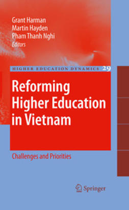 Harman, Grant - Reforming Higher Education in Vietnam, ebook