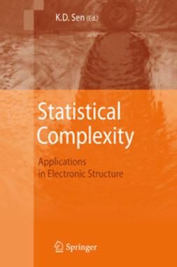 Sen, K.D. - Statistical Complexity, ebook
