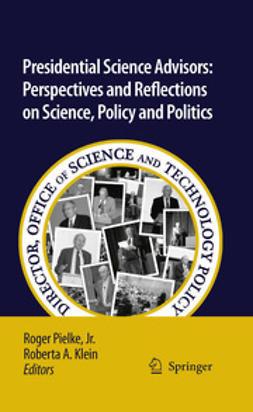 Pielke, Roger - Presidential Science Advisors, ebook