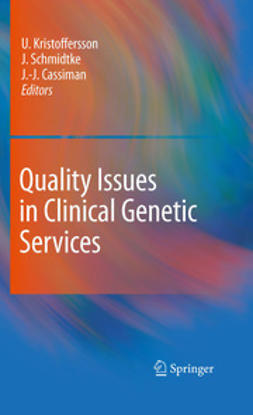 Kristoffersson, Ulf - Quality Issues in Clinical Genetic Services, ebook