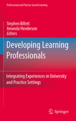 Billett, Stephen - Developing Learning Professionals, ebook