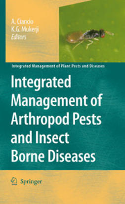 Ciancio, Aurelio - Integrated Management of Arthropod Pests and Insect Borne Diseases, ebook