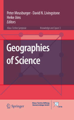 Meusburger, Peter - Geographies of Science, ebook