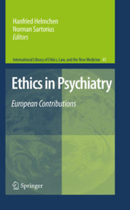 Helmchen, Hanfried - Ethics in Psychiatry, ebook