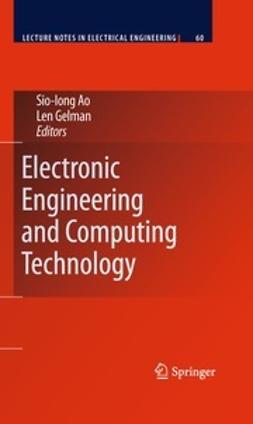 Ao, Sio-Iong - Electronic Engineering and Computing Technology, e-bok