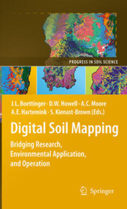 Boettinger, Janis L. - Digital Soil Mapping, ebook