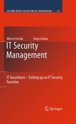 Partida, Alberto - IT Security Management, ebook