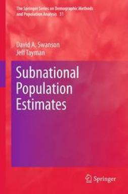 Swanson, David A. - Subnational Population Estimates, ebook