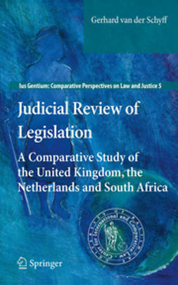 Schyff, Gerhard van der - Judicial Review of Legislation, ebook