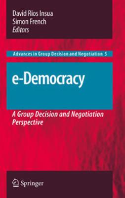 Insua, David Rios - e-Democracy, e-bok