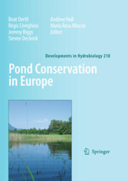 Oertli, Beat - Pond Conservation in Europe, ebook