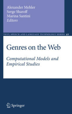 Mehler, Alexander - Genres on the Web, e-bok