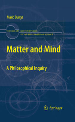 Bunge, Mario - Matter and Mind, ebook
