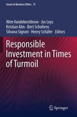 Vandekerckhove, Wim - Responsible Investment in Times of Turmoil, e-bok