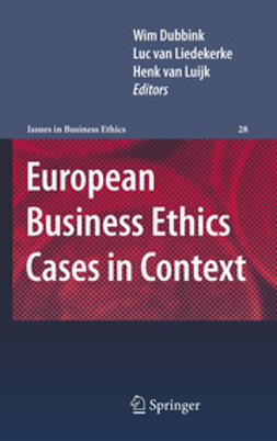 Dubbink, Wim - European Business Ethics Cases in Context, e-bok