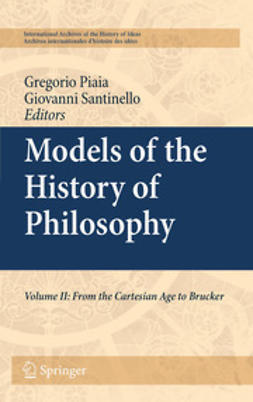 Santinello, Giovanni - Models of the History of Philosophy, ebook