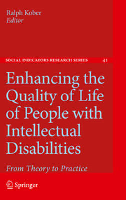 Kober, Ralph - Enhancing the Quality of Life of People with Intellectual Disabilities, e-bok