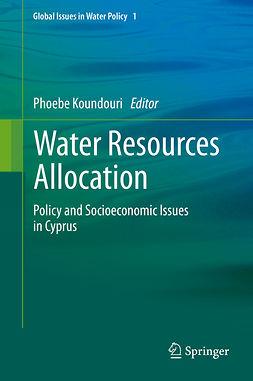 Koundouri, Phoebe - Water Resources Allocation, ebook